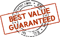 Best Value Guaranteed stamp